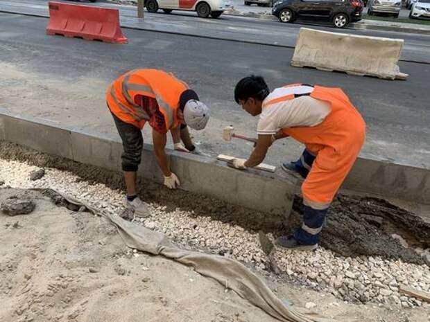 В Самаре завершается ремонт улицы Арцыбушевской