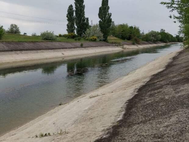 Жители Прибалтики и Украины отреагировали на появление воды в Северо-Крымском канале (ВИДЕО)