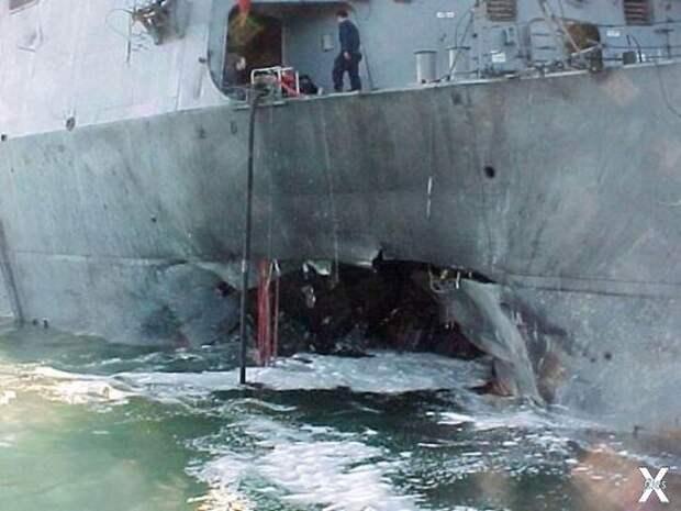 Крушение эсминца «Коуэлл»