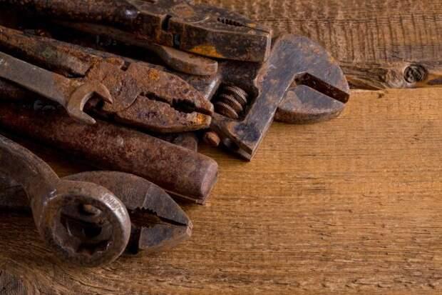 Ржавые инструменты будут как новые. Самый лёгкий способ чистки