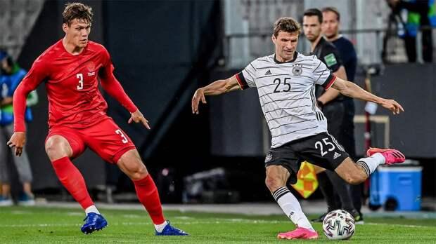 Соперник сборной России по Евро-2020 Дания сыграла вничью с Германией