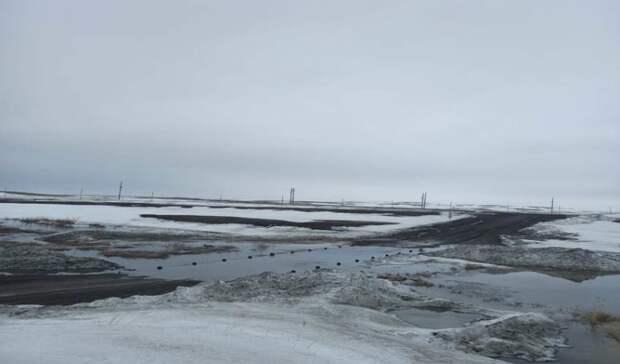 Из-за паводка в Оренбуржье перекрыли для движения 11 мостов