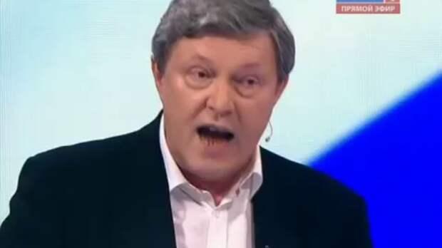 Зашёл с козыря. Явлинский в дебатах на «России-1»: «Пока не поменяем президента, ничего хорошего не будет»