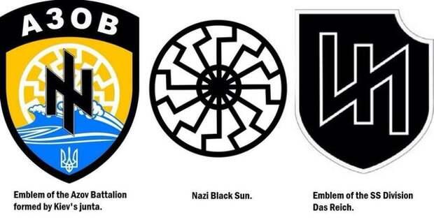 """Нацистов полка """"Азов"""" вывели в тыл. Что-то затевается"""