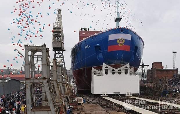 NRK (Норвегия): Россия спустила на воду самый большой в мире ледокол.