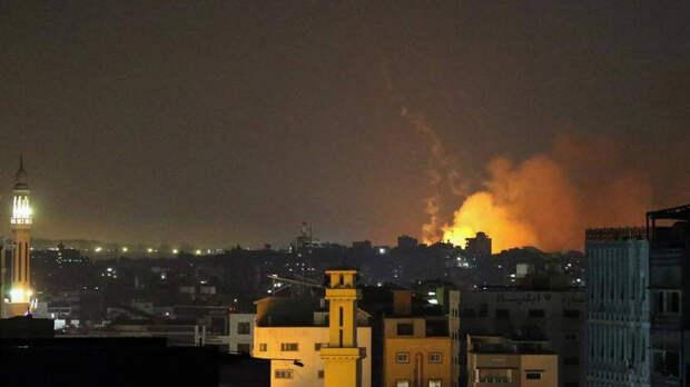 Армия Израиля совершила крупнейший ракетный обстрел сектора Газа