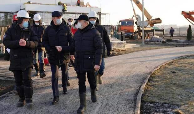 «Рисков неуспеть— нет». Власти Башкирии посетили ковид-госпиталь вСтерлитамаке