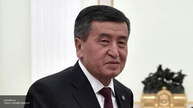 Глава Киргизии допустил возможность пересмотра итогов выборов в парламент