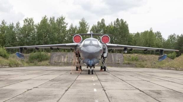 Пятое ЧП за август: Самолёт-амфибия рухнул в Подмосковье