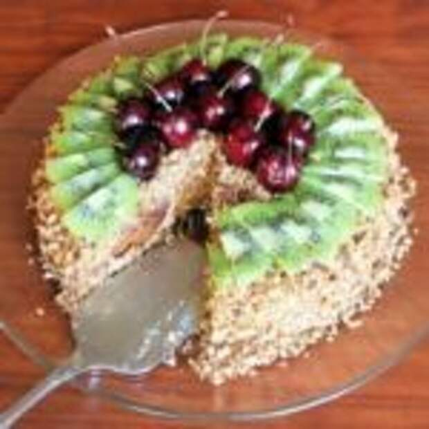 Вау!Торт из пряников и сметаны