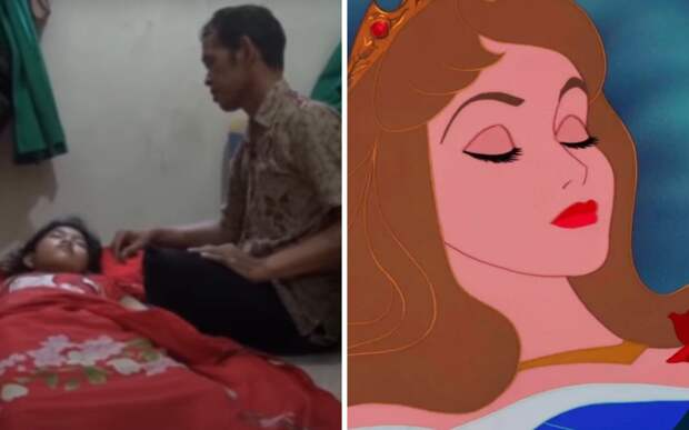 Девушка стала настоящей Спящей Красавицей, заснув на 13 дней