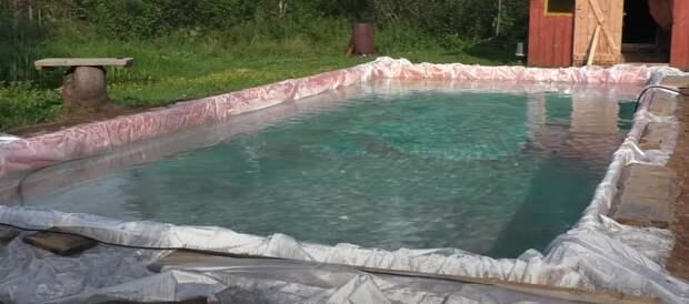 Изготовления бассейна в домашних условиях. Виды бассейнов и советы по эксплуатации.