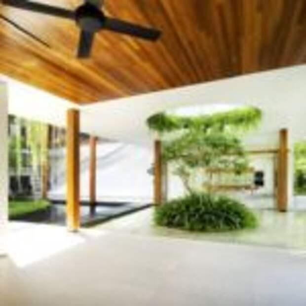 Дизайн дома с ивами от Guz Architects