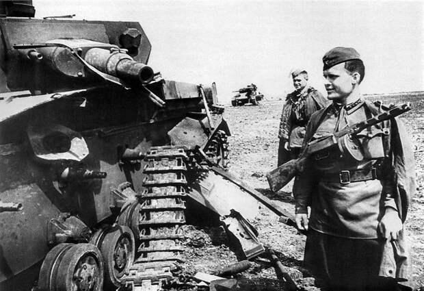 Самые невероятные случаи уничтожения немецких танков советскими солдатами