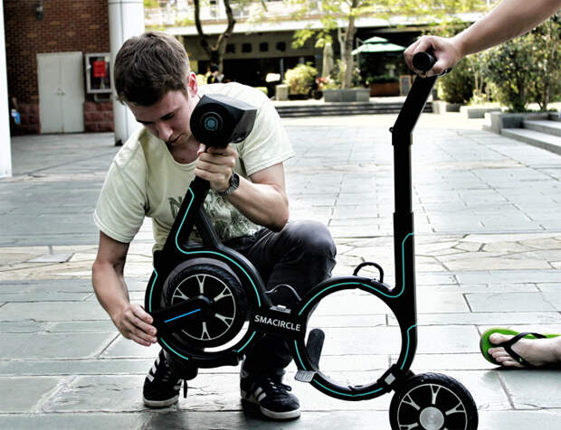 Велосипед, который можно уместить в рюкзак: за него создатели просят 1 доллар, но есть одно «но»2530/
