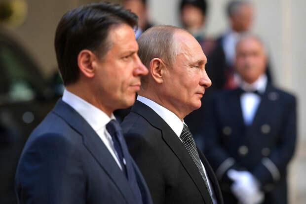 Премьер Италии сообщил о намерении Путина создать комиссию по Навальному