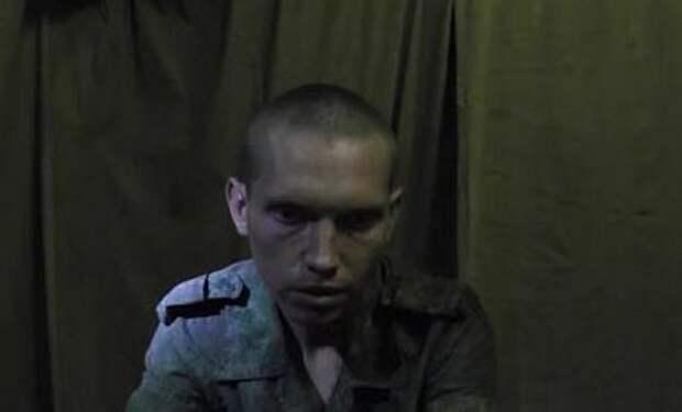 Задержанный СБУ российский солдат дал показания против России