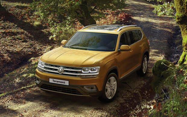 Volkswagen Teramont добавили опций