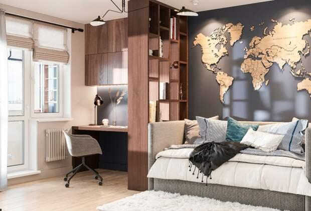 10 лайфхаков для увеличения пространва в квартире