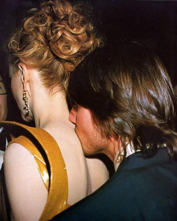 Николь Кидман и Том Круз на вручении премиии Оскар, 2000 год.