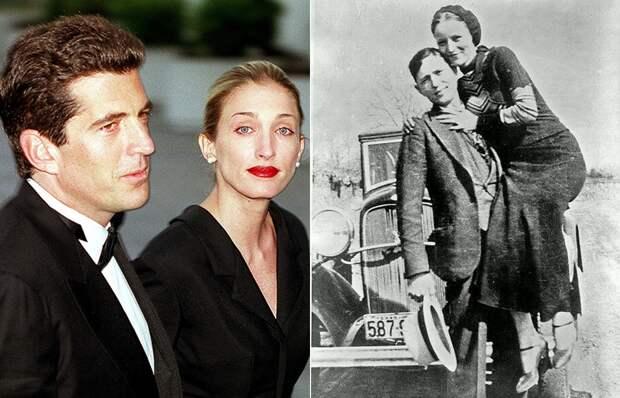 7 знаменитых пар, умерших в один день