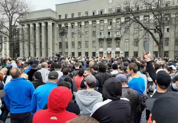 В Северной Осетии проходят протесты против режима самоизоляции