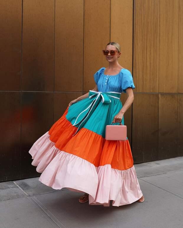 Летнее платье в пол: 15 прекрасных моделей от самых талантливых дизайнеров