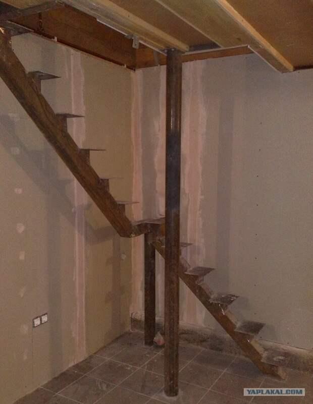 Кризис на дворе, строим дальше сами - простая лестница