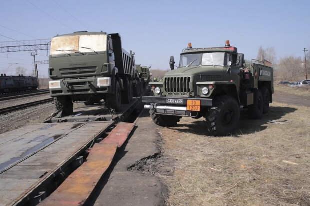Военные железнодорожники ЦВО из Удмуртии прибыли в Амурскую область для строительства второй ветки БАМ