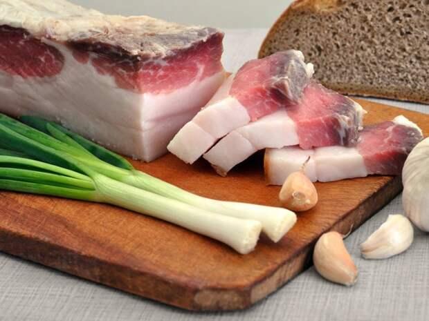 Свиное сало: мифы, аргументы и факты еда, здоровые, полезности, продукты, сало, факты