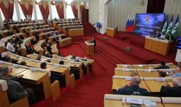Глава КБР Казбек Коков обратился с ежегодным Посланием к Парламенту республики