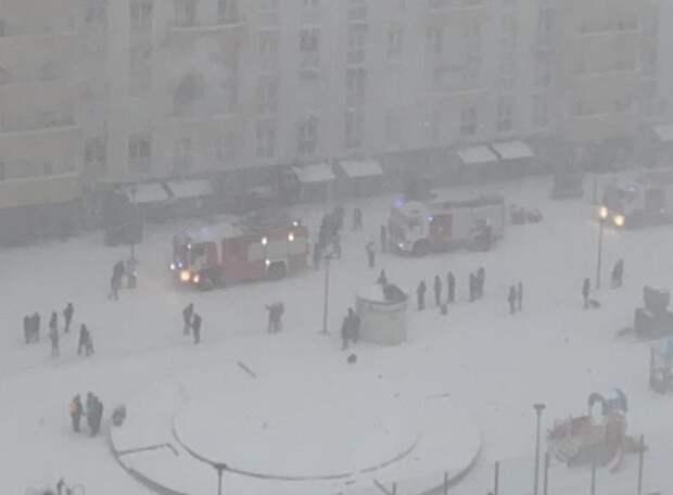 В Краснодаре из-за пожара в многоэтажке эвакуировали 90 человек