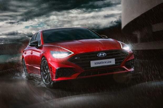 «Подогретая» Hyundai Sonata: пока раскрыт только дизайн, но мотор, скорее всего, от Kia K5 GT