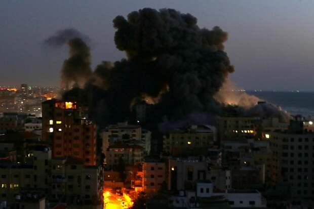 Израиль провел масштабную атаку по объектам радикалов в секторе Газа