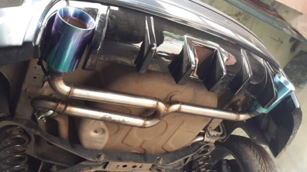 Сегодня многие мастера предлагают подобный тюнинг. |Фото: drive2.com.