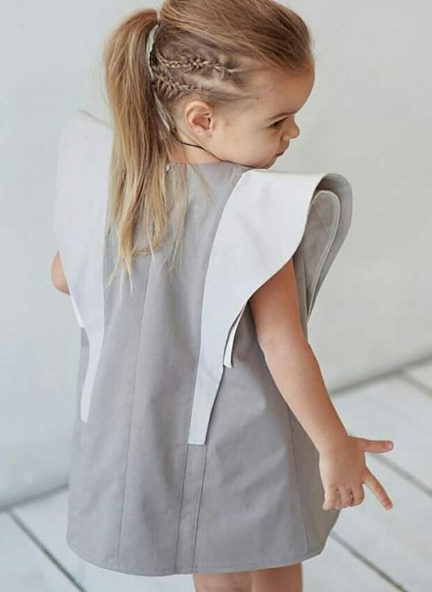 Крылышки в детской одежде (идеи)