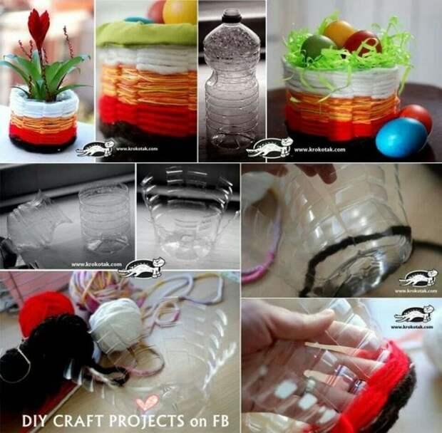 14 безумно классных идей, как использовать пластиковые бутылки