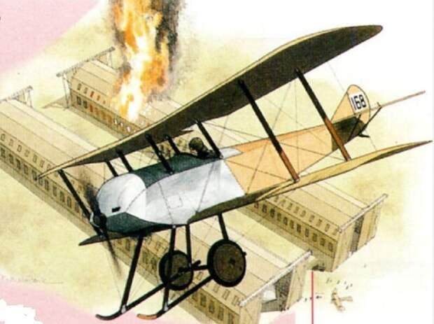 Британский бульдог против «летающих сосисок» англия, германия, первая мировая война, страницы истории