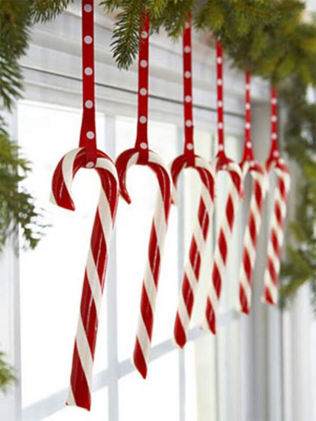 Новогодний декор: 20 способов украсить окна