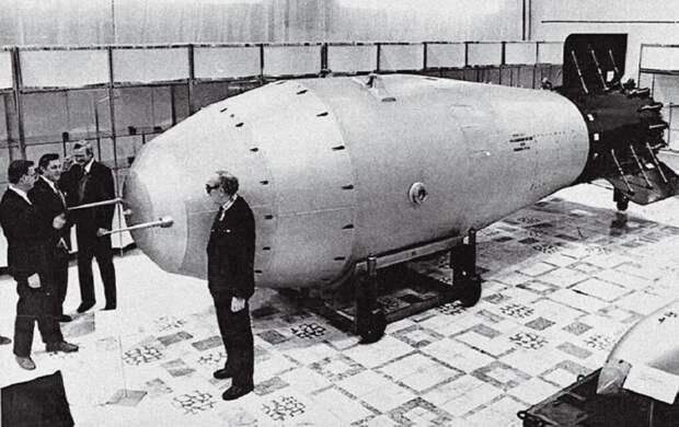 Царь-бомба или как Советский Союз показал миру Кузькину мать