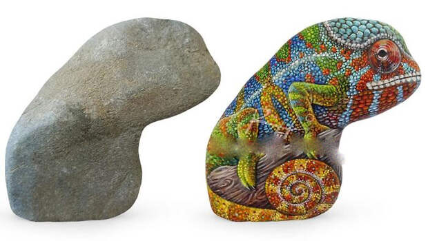 Больше всего Роберто Риццо любит рисовать животных.