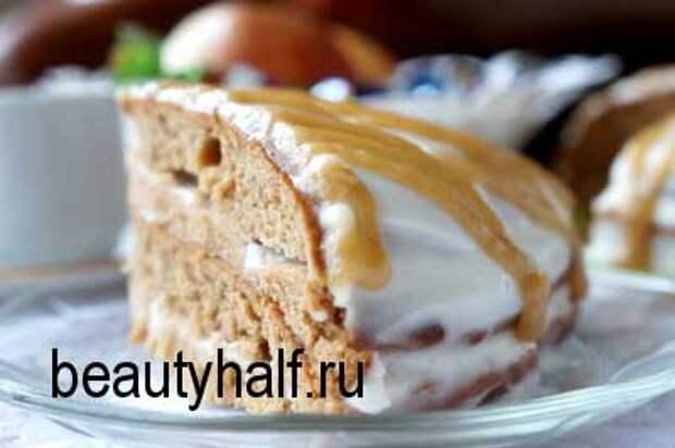 Торт «Бисквит на повидле»