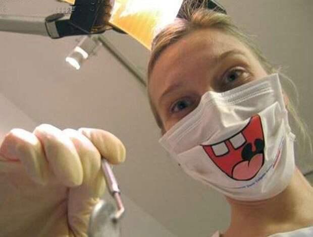 Дядя Саша, пора к дантисту!