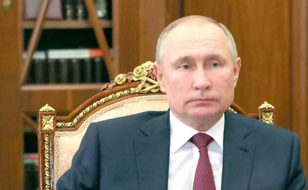 Путин: «Украину превращают в антипода России»