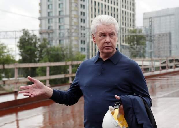 Собянин отрицает вторую волну COVID в Москве