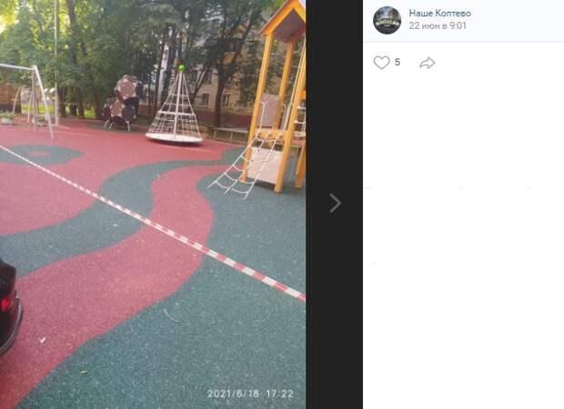 Качели вернутся на игровую площадку по улице Приорова к 15 июля
