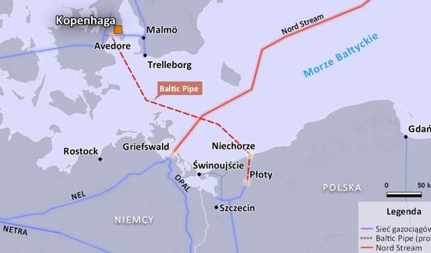 Разрешение напрокладку Baltic Pipeотозвала Дания— работы поукладке трубы придется остановить