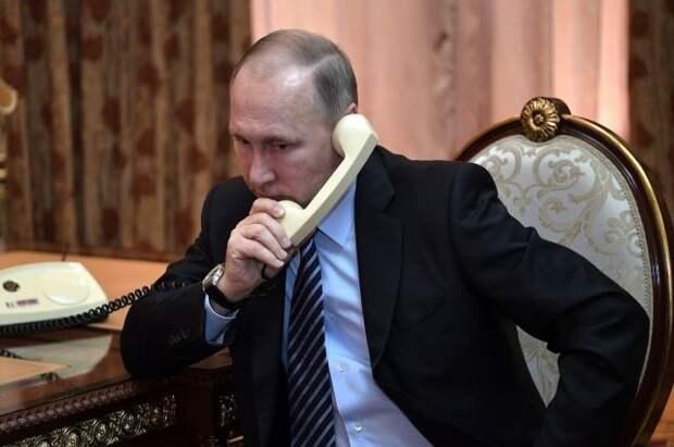 Путин обсудил с лидером Азербайджана ситуацию вокруг Нагорного Карабаха