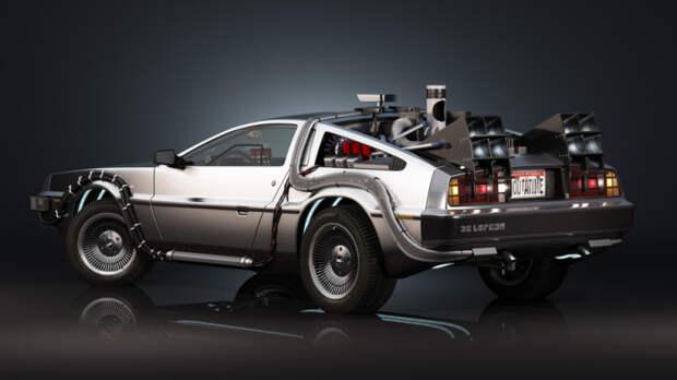 DeLorean из культового фильма «Назад в будущее».