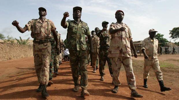 Отряды FACA продолжают зачищать от боевиков города и села на юго-востоке ЦАР